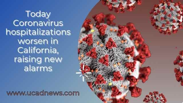Today Coronavirus hospitalizations