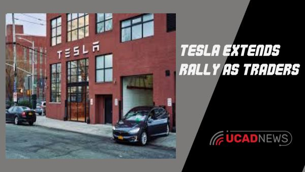 Tesla extends rally as traders